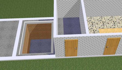 Как правильно построить погреб в сарае. Как сделать погреб в сарае самостоятельно