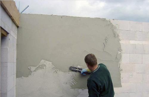 Штукатурка поверхностей внутри здания цементным раствором приготовление цементного раствора для кладки