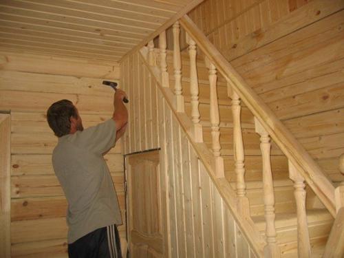 Внутренняя отделка дома из деревянного бруса. Существующие виды отделки брусового дома