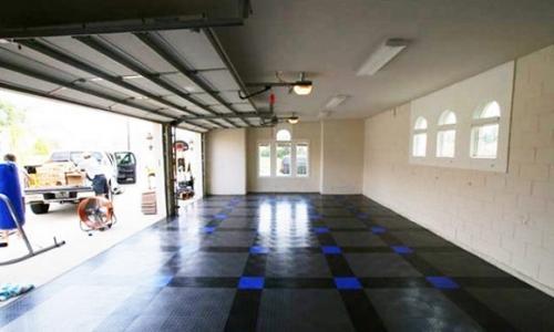 Плитка в гараж на пол: плюсы и минусы