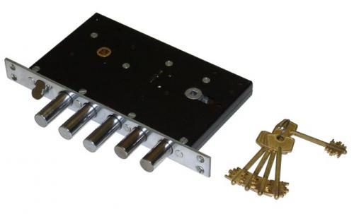 Запорный механизм двери. Особенности устройства