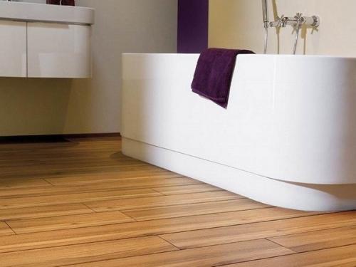 Ламинат для ванной. Требования к напольному покрытию