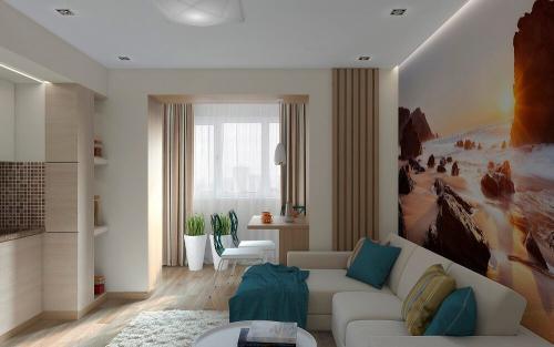 Современный дизайн однокомнатной квартиры. Советы по выбору дизайна однокомнатной квартиры
