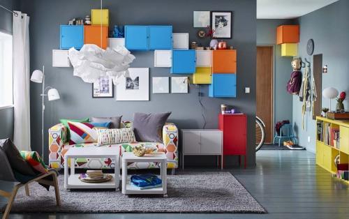 Спальня гостиная ИКЕА. Гостиная ИКЕА – 110 фото самых красивых идей оформления комнаты в разных стилях
