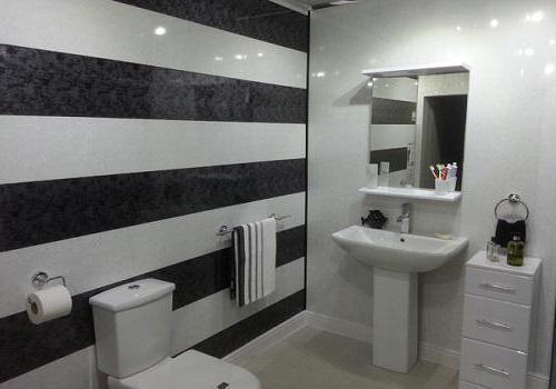 Ремонт стен в ванной своими руками. Пластиковые панели