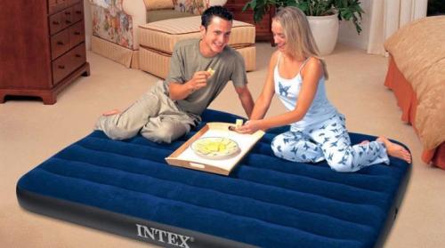 Ремкомплект для надувного матраса intex. Ремонт надувных матрасов Intex: неисправности и методы их устранения