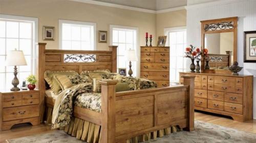 Стиль кантри в интерьере спальни. Спальня в стиле кантри
