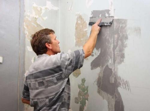 Стены в ванной чем красить. Подготовительные работы