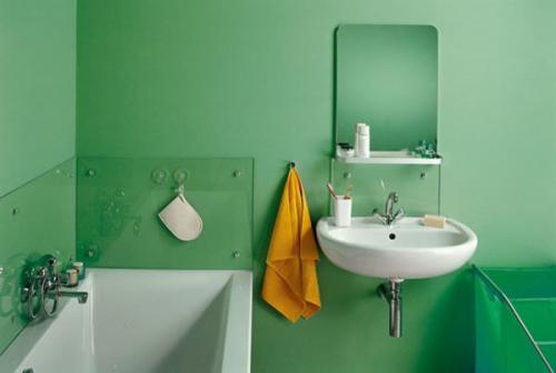 Какой краской покрасить ванную комнату. Влагостойкие краски