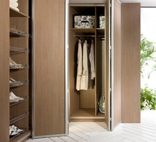 Двери для шкафа книжка. Складная дверь книжка для шкафа