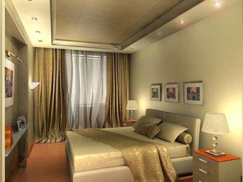 Простой дизайн спальни своими руками. Выбор цвета
