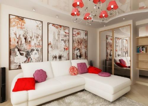 Уютная гостиная в квартире. Продумываем дизайн маленькой гостиной до мелочей