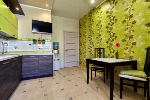 Цвет стен в квартире, как выбрать. Цвет обоев на кухне