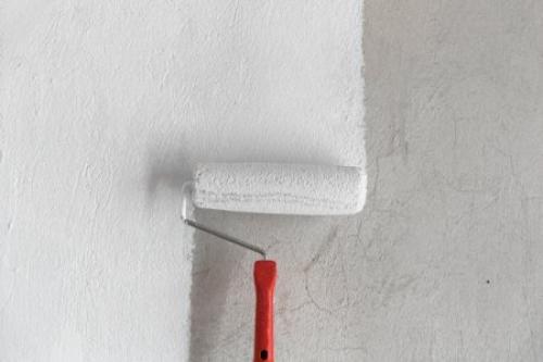Чем красить в ванной комнате стены. Покраска