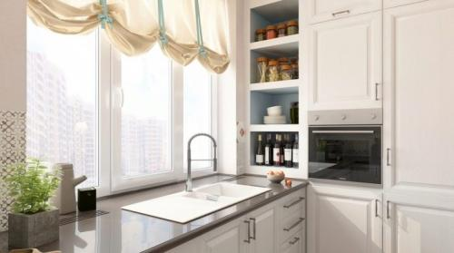 Мойка у окна на кухне плюсы и минусы. Мойка у окна на кухне: плюсы, минусы и дизайн