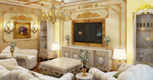 Комнаты в стиле Барокко. Особенности стиля Барокко