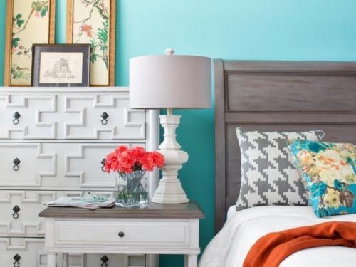 Интерьер комнаты в бирюзовом цвете для девушки. Влияние бирюзового цвета на психологическое состояние