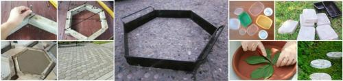 Изготовление тротуарной плитки своими руками пошаговая инструкция. Технологи изготовления тротуарной плитки