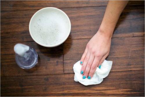Чем мыть ламинат. Инструкция по мытью ламинатного пола
