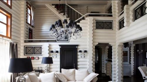 Комната в деревянном доме. Создаем стильный интерьер деревянного дома
