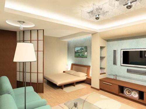 Ремонт двухкомнатной малогабаритной квартиры. Зонирование