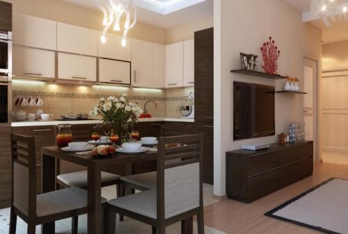 Кухня гостиная бти. Основные требования к переустройству, перепланировке
