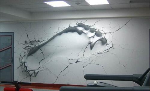 Рисунки своими руками на стене в комнате. Художественная роспись стен своими руками