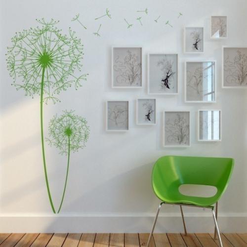 Как нарисовать цветы на стене. Как нарисовать цветок на стене