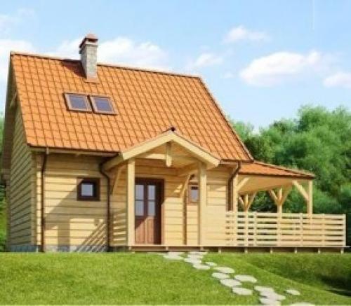 Небольшой, но уютный домик. Небольшой, но удобный и уютный дом