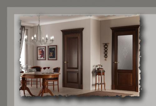 Цвет межкомнатной двери, как выбрать. Межкомнатные двери: как правильно подобрать цвет двери, чтобы она гармонично смотрелась в интерьере