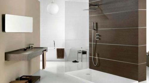 Дизайн ванной с душем без поддона. Душ в ванной без душевой кабины: тонкости оформления