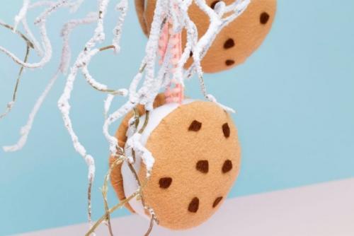 Игрушки на елку текстильные. Елочные игрушки своими руками - 5 текстильных идей