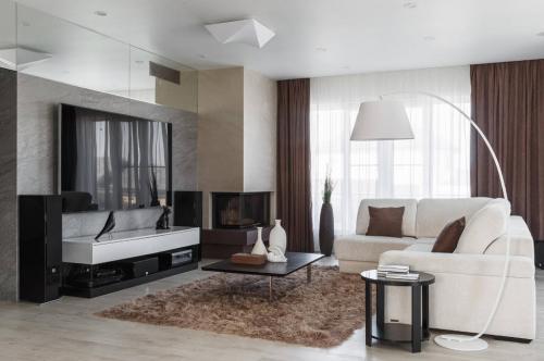Проекты интерьеров гостиной минимализм. Отделка гостиной в стиле минимализм