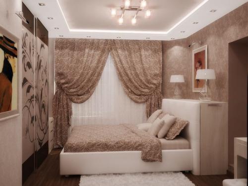 Комната 4 н.  Дизайн спальни 9 кв м. Цвет и дизайн.