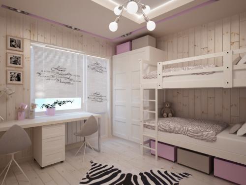 Комната 12 кв метров это сколько. Дизайн детской комнаты