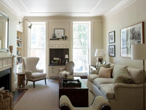 Как обставить комнату с двумя окнами на разных стенах. Гостиная с двумя окнами: варианты дизайн-проектов