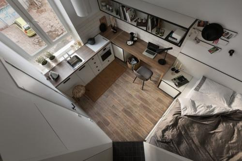 17 кв м квартира. Квартира 17 кв. м для студента в убитой крошечной «сталинке»