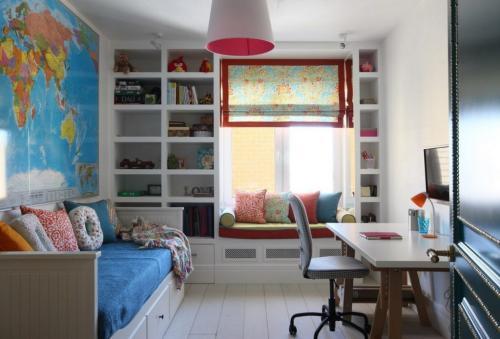 Детская комната в хрущевке. Дизайн детской комнаты в хрущевке: особенности оформления (+40 фото)