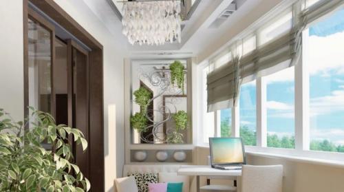 Балкон в стиле кантри. Варианты офрмления балкона в различных стилях