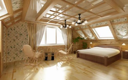 Чем обшить потолок на даче. Отделочные материалы