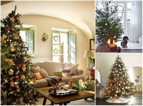 Как украсить однокомнатную квартиру на новый год. Новогодний декор: 10 идей для маленькой квартиры