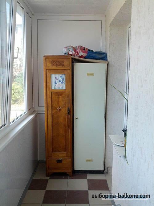 Каркас для шкафа из брусков.
