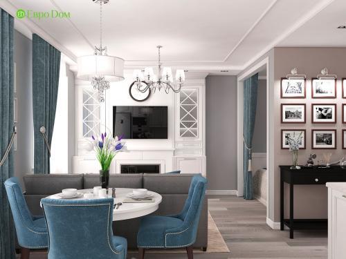 Ремонт в квартирах однокомнатных. Дизайн-проект ремонта однокомнатной квартиры в Звенигороде