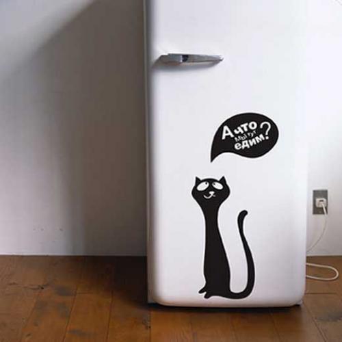 Обклеить холодильник самоклейкой. Как выбрать плёнку для холодильника