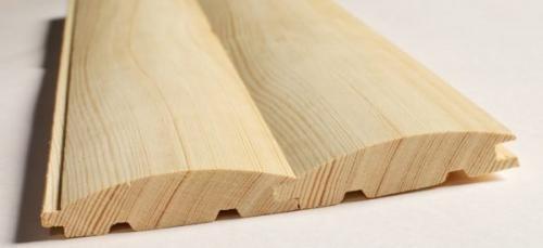 Отделочные деревянные материалы. Вагонка и блок-хаус