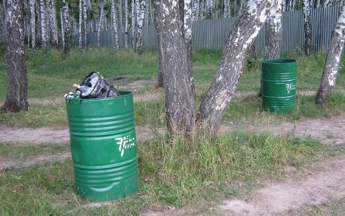 Крышка для мусорного бака своими руками. 5 способов, как быстро и просто сделать контейнер для мусора