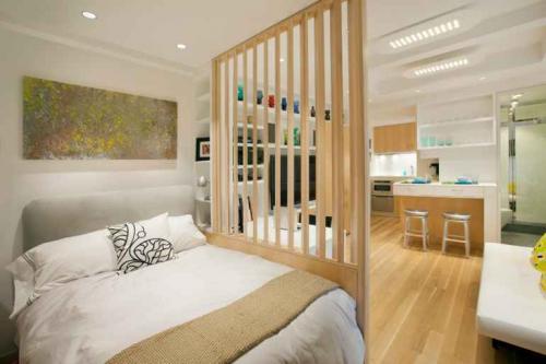 Разделение комнаты на две зоны современные идеи. 10 способов разделить комнату на зоны без особых усилий и участия дизайнеров