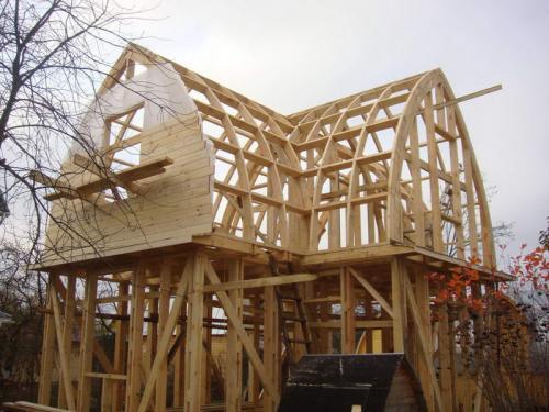 Оформление фронтона деревянного дома. Материалы для облицовки фронтона частного дома