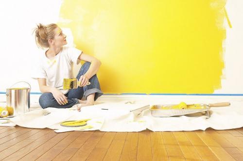 Как покрасить стеклообои без разводов. Как покрасить стеклообои