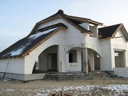 Дом из пенопластовых панелей. Дома из пенополистирола своими руками